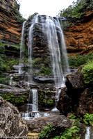 Wentworth Falls in the Blue Mountains, Australia